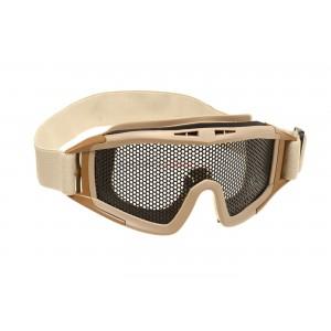 Goggles Steel Mesh tan [Invader Gear]