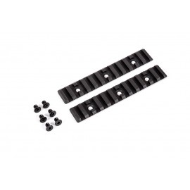 Aluminium Rail Set bk (2x12 Slot Rails) [Dytac]