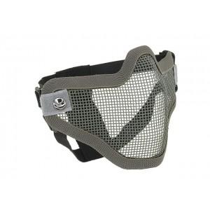 V1 Steel Protective Half Face Mask grey [CS]