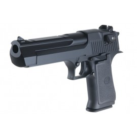 Pistola Desert Eagle .50 CO2 Blowback (Metal Slide) bk [KWC]