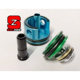 Ergal Tune-Up Kit (Cylinder Head/Piston Head/Nozzle) for M4/M16 [FPS]