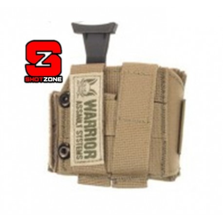 WARRIOR LEFT-HANDED UNIVERSAL PISTOL HOLSTER - COYOTE