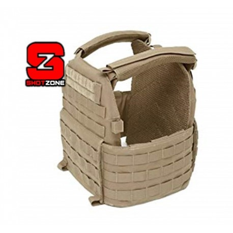 WARRIOR DCS SPECIAL FORCES PLATE CARRIER BASE (MEDIUM) - COYOTE