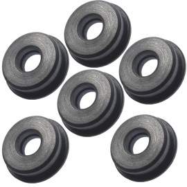 Self-Lubricating CNC Steel Bushings 8mm [FPS]