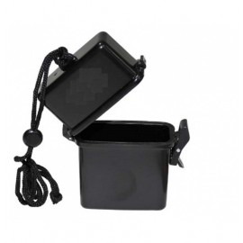 Waterproof Box with Neck Strap bk [Mil-Tec]