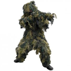 "Ghillie Suit ""Anti-Fire"" Pro (4pcs) woodland M/L [Mil-Tec]"