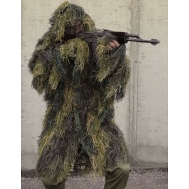 "Ghillie Parka ""Anti-Fire"" Pro woodland [Mil-Tec]"