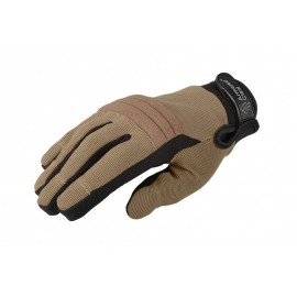 Gloves Direct Safe™ Puncture-Resistant Half tan M [Armored Claw]