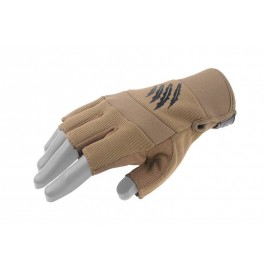 Gloves Shooter Cut Tactical tan M [Armored Claw]