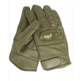 Gloves Leather Combat od -XL [MECHANIX]