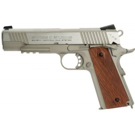Pistola 1911 Tactical Rail 4.5mm CO2 Silver [Swiss Arms]