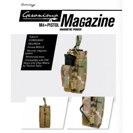 Bolsa porta mag M4+mag pistola multicam [GERONIMO]