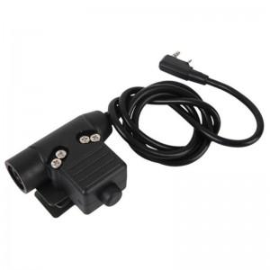 PTT Connector Kenwood U94 II bk [Z-Tactical]