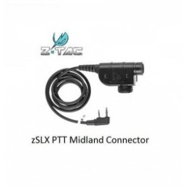 PTT zSLX Connector Midland bk [Z-Tactical]