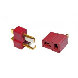 Set Deans Connector High T-Shape Plug [SHS]