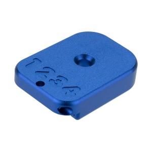 HX CNC Aluminium Baseplate blue [AW Custom]