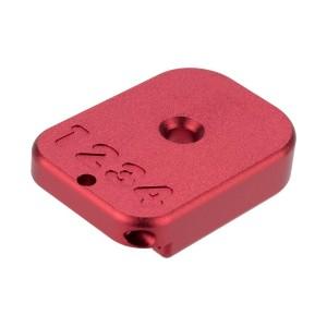 HX CNC Aluminium Baseplate red [AW Custom]