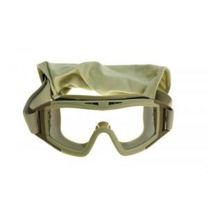 Tactical goggles tan