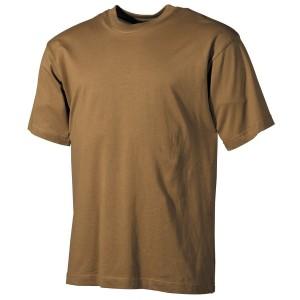 US T-Shirt (short-sleeved) coyote M [MFH]