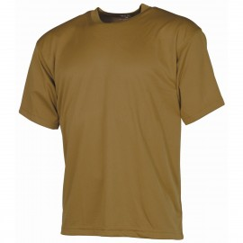 Tactical T-Shirt (short-sleeved) coyote L [MFH]