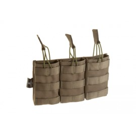 Triple Direct Action Magazine Pouch 5.56 ranger green [Invader Gear]