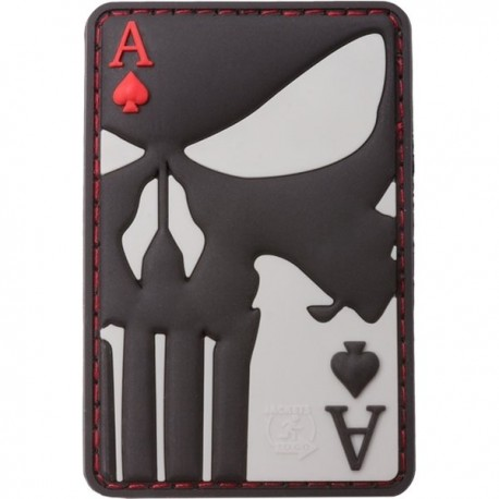 Rubber Patch Punisher Ace of Spades