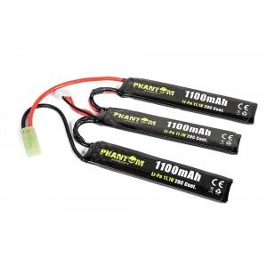 Bateria 11.1v 1100mAh 20C (18x35x61mm) Li-Po [Phantom]