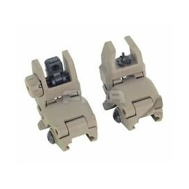Front & Rear Sight Set Gen.1 tan [FMA]