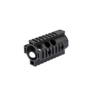 """Aluminium RIS CNC 4"""" Mount Rail for M4/M16 bk [Specna Arms]"""