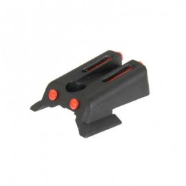 Fiber Optic Rear Sight for 1911 [Army Armament]
