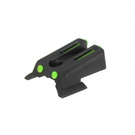 Fiber Optic Rear Sight for 1911 green [Army Armament]