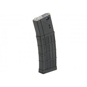 Magazine Polymer Mid-Cap M4/AR15/SCAR16/416 150BBs bk [BattleAxe]