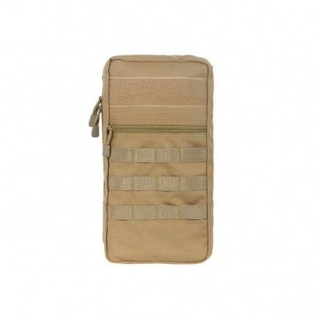 Modular Hydration Bladder Molle Pouch coyote [8Fields]