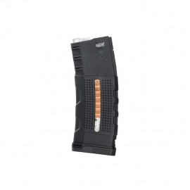 Enhanced Grip Polymer Magazine for M4/AR-15 150BBs bk [BattleAxe]