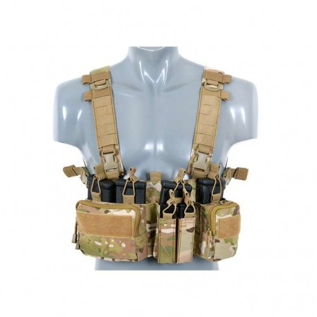 Tactical Adaptive Sniper Chest Rig multicam [8Fields]