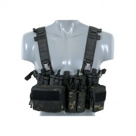 Tactical Adaptive Sniper Chest Rig multicam black [8Fields]