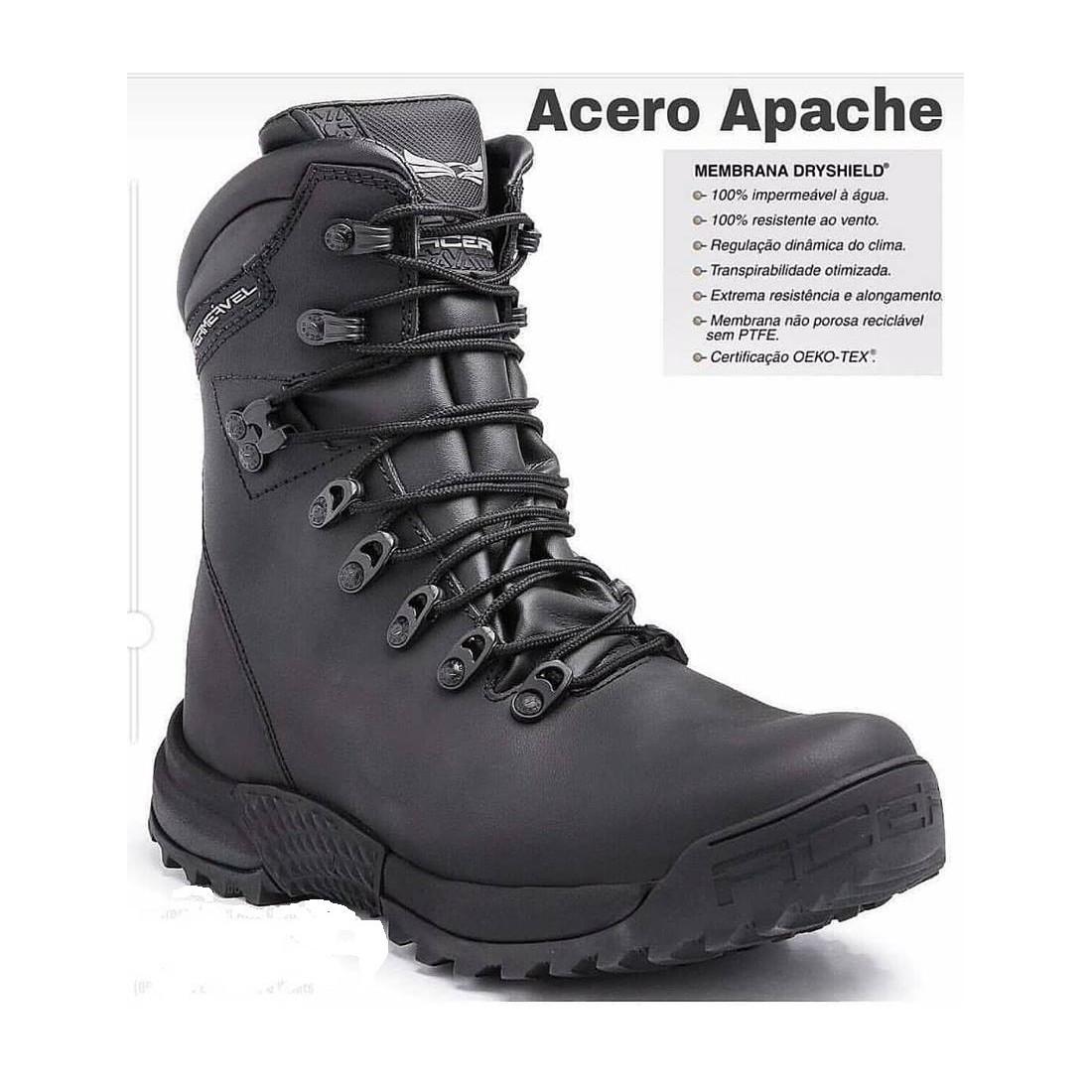 Botas Apache Dry Látego tan [Acero]