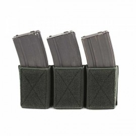 Triple Velcro Mag Pouches for 5.56 od [Warrior]