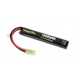 Bateria 7.4V 1300mAh 20C (12.2x21x130mm) Stick Li-Po [Phantom]