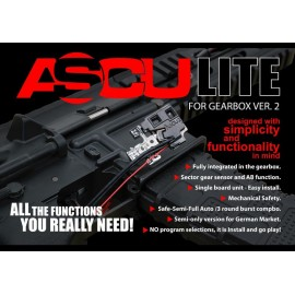 ASCU LITE Mosfet for V2 Gearbox [Airsoft Systems]