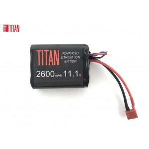 Bateria 11.1v 2600mAh Brick Deans Lithium [Titan]