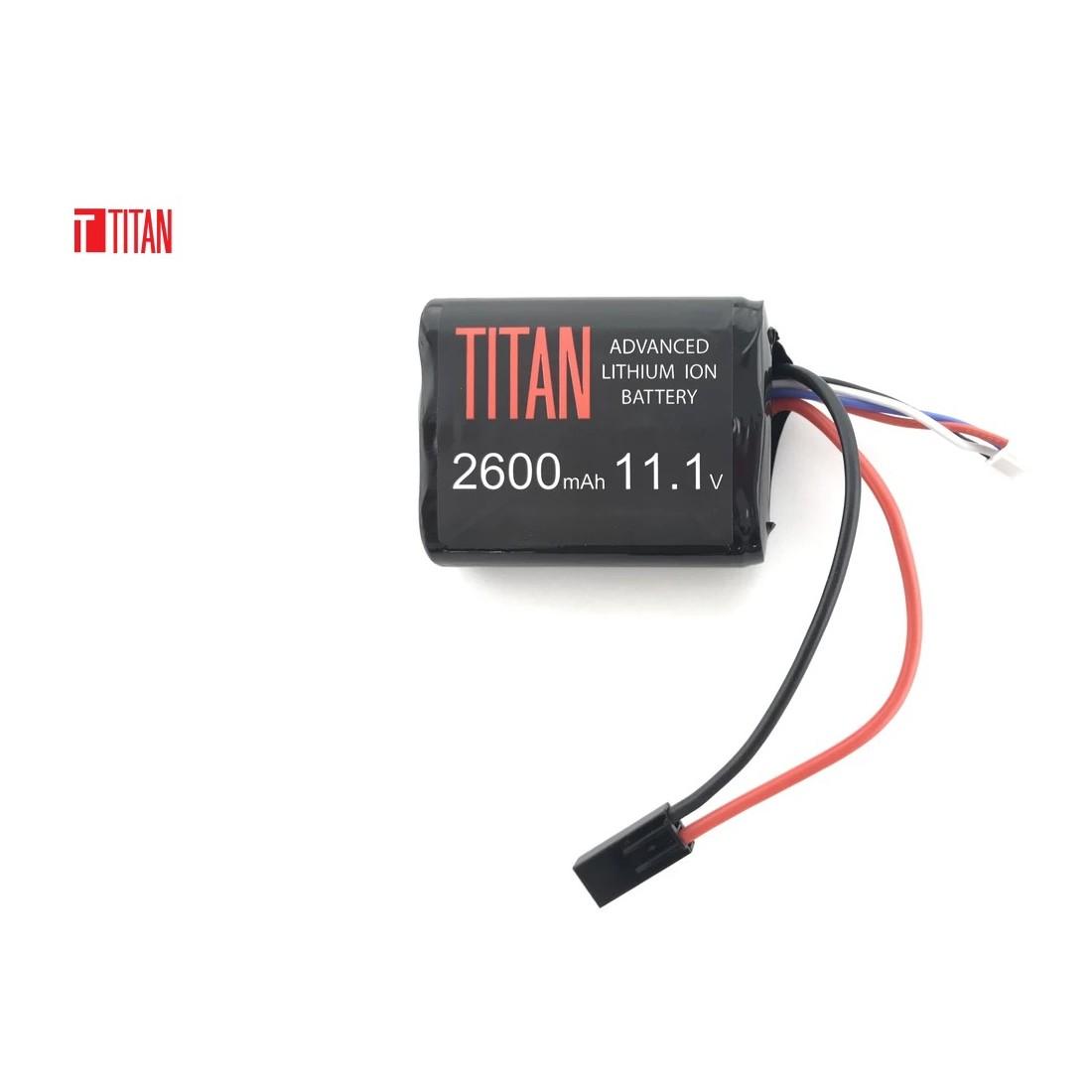 Bateria 11.1v 2600mAh Brick Tamiya Lithium [Titan]