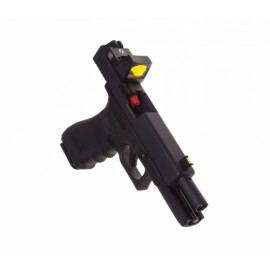 Pistola G17 with Red Dot Sight Gas bk [Raven]