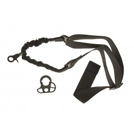 Bungee Sling with Mount 1P black [GFT]