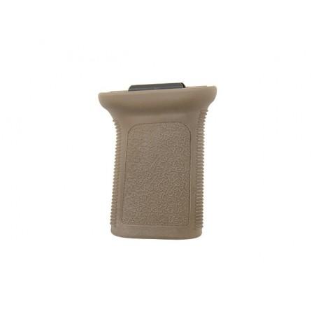 Vertical Grip Short for Picatinny Rail tan [BattleAxe]