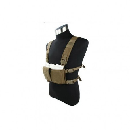 Modular Lightweight Chest Rig Standard Set coyote [TMC]