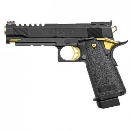 Pistola Hi-Capa 5.1 Gold Match Custom black [Tokyo Marui]