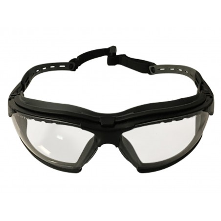 Comfort Tactical Glasses Clear Lenses [Strike Systems]