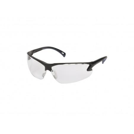 Adjustable Glasses with Clear Lenses & black Frame [Strike Systems]