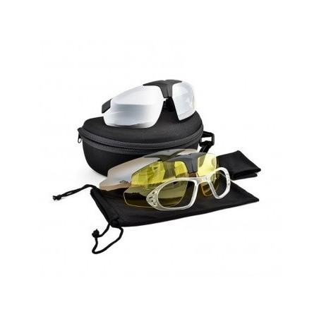 Shooting Glasses 3 Lenses Frame black [Royal]